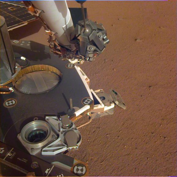 Шум вітру і перше селфі: NASA опублікувало сенсаційні записи з Марса (2)
