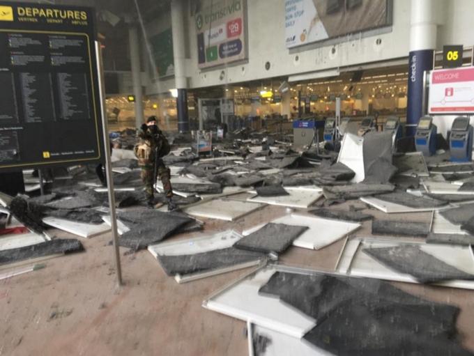 Теракты в Брюсселе: видео взрывов, фото и все подробности