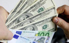 Курсы валют в Украине на среду, 18 октября