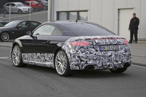 Audi TT-RS Coupe проходить тести у власному кузові (18 фото) (3)