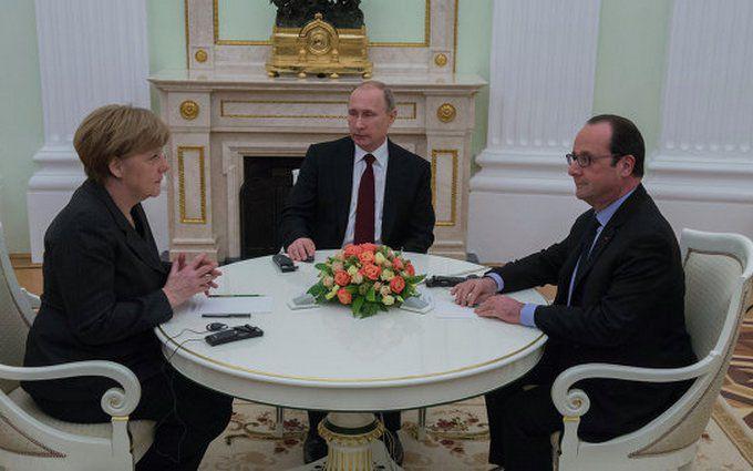 Зрив зустрічі Путіна, Меркель і Олланда: в мережі вказали на несподіваний успіх України