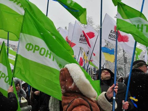 """""""Фронт змін"""" не намерен вливаться в партию Тимошенко"""
