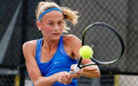Юная украинская теннисистка рекордно победила на престижном турнире