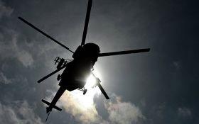 В Бельгии на авиашоу пилот выпал из вертолета