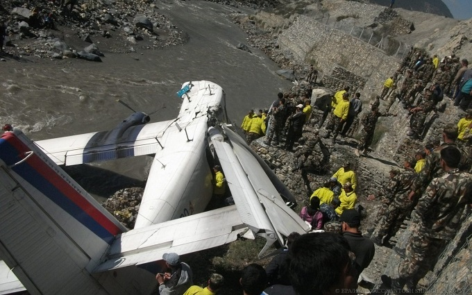 В Непале нашли обломки пропавшего самолета: обнародовано видео
