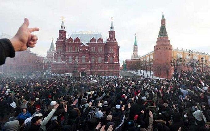 У Росії назвали умову для революції проти Путіна