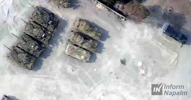 Нові танки з військторгу Путіна помічені на Донбасі: з'явилися фото (3)