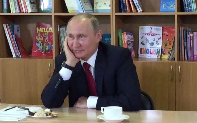 Дивна порада школярам від Путіна підірвала мережу: опубліковано відео