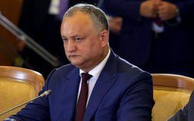 Додона отстранили от должности президента Молдовы - известна причина