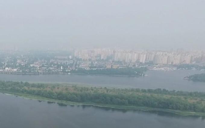 Метеорологи пояснили таємничий туман над Києвом: з'явилося відео