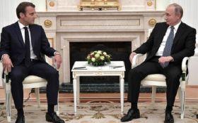 Відомо, що обговорювали Путін та Макрон перед фіналом ЧС-2018