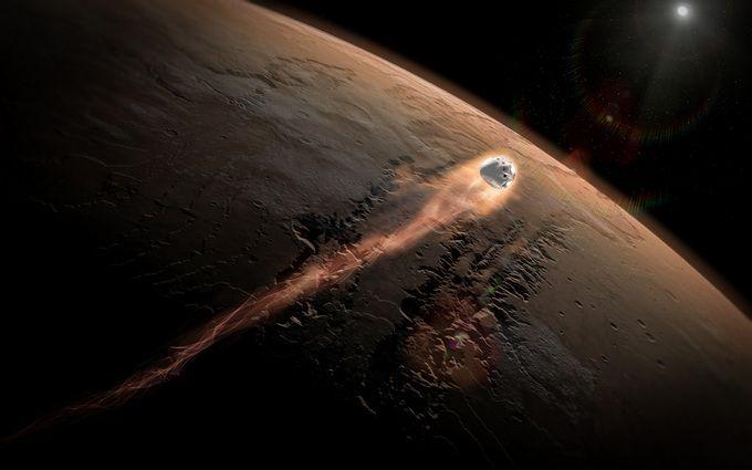 У Карпатах впав метеорит: опубліковано видовищне відео