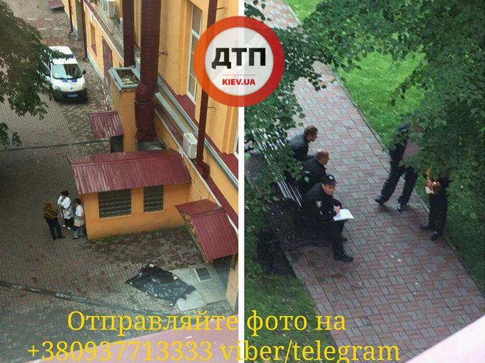 В Киеве в корпусе одного из лучших вузов Украины произошло самоубийство: появились фото (1)