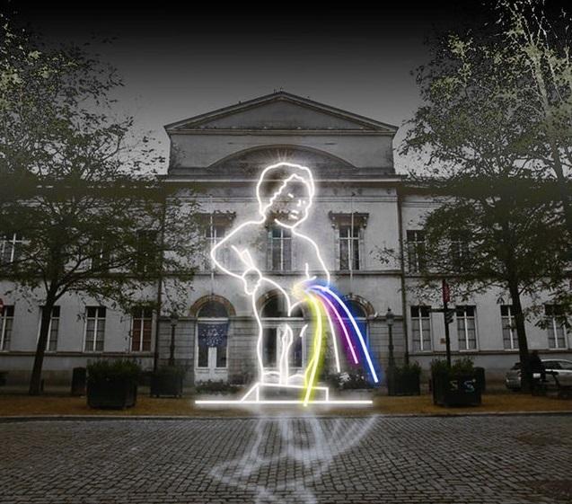 У Брюсселі стартував фестиваль світла Bright Brussels (1)