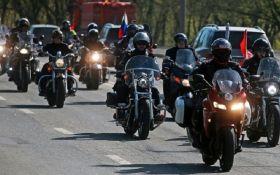 Активисты в Чехии протестовали против приезда байкеров Путина: появилось видео