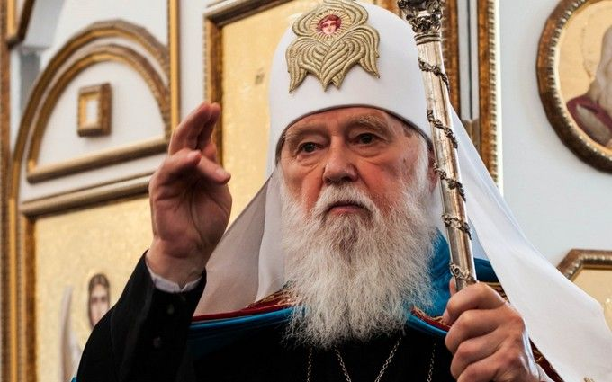 Патриарх всея Руси-Украины Филарет сделал скандальное обращение к Кириллу