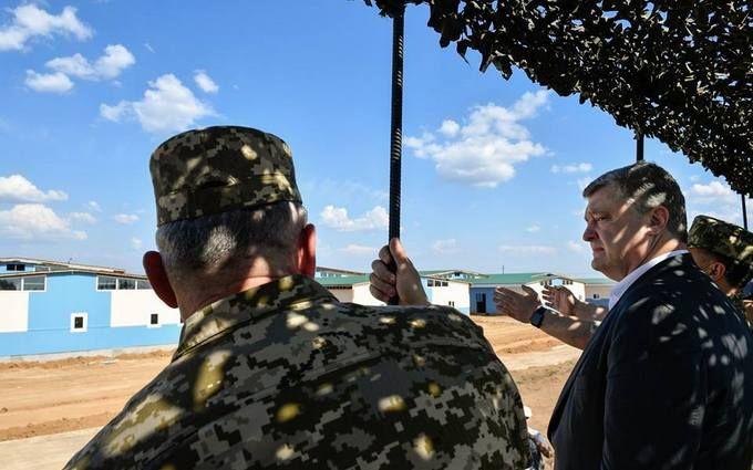Краще, ніж в країнах НАТО: Порошенко показав новий військовий полігон в Україні