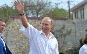 Візит Путіна до Криму став причиною їдких коментарів