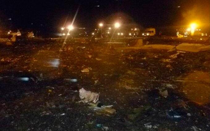 Крушение самолета в России: опубликованы первые фото с места катастрофы