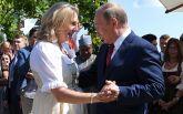 Свадьба главы МИД Австрии: появились фото и видео танца Путина с невестой