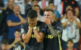 Роналду заплакал после удаления в матче Лиги чемпионов - эмоциональное видео