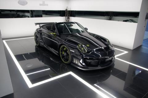 Кабріолет Porsche 997 Turbo від TechArt (8 фото) (5)