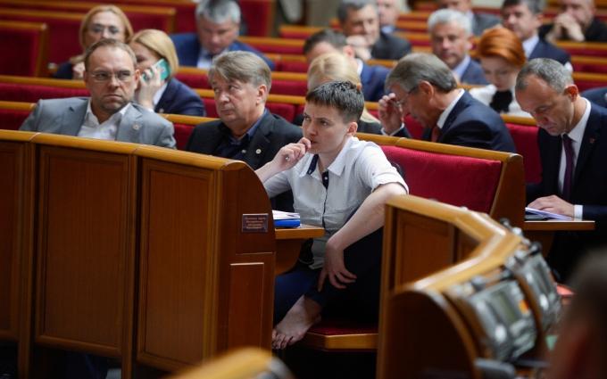 Савченко матом розповіла про депутатів-брехунів: опубліковано відео
