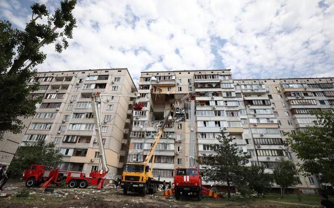 Будинок доведеться зносити - стало відомо про загрозу обвалу багатоповерхівки в Києві після вибуху