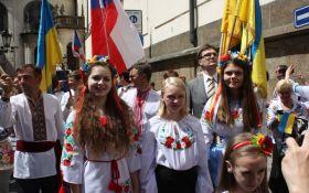 В Чехии во второй раз состоялся украинский марш вышиванок: появилось видео