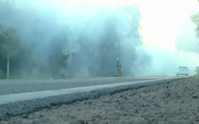"""В Каліфорнії вирує """"старий вогонь"""", йде евакуація: опубліковані відео"""