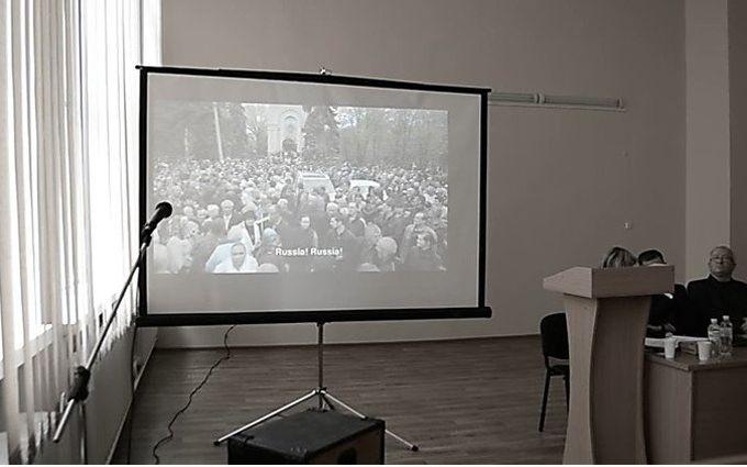 """У Миколаєві спробували пропагувати """"російську весну"""": опубліковані відео"""