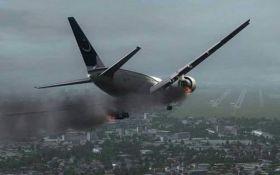Выживших нет - появились жуткие видео с места падения пассажирского самолета в Пакистане