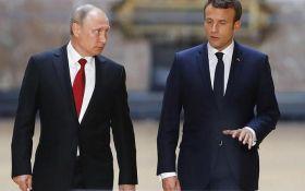 Макрон зробив гучну заяву про санкції проти Росії за підсумками переговорів з Путіним