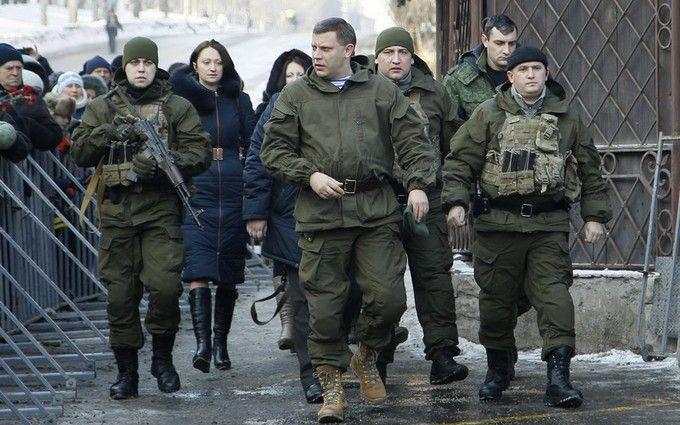Ватажок ДНР Захарченко боїться ходити без охорони - житель Донецька