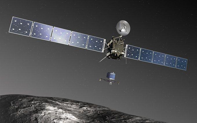 Знаменитий космічний зонд розбився об комету: з'явилося яскраве відео