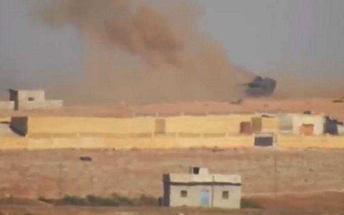 Бойовики ІДІЛ палять турецькі танки ракетами з Росії: з'явилося відео