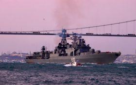 Вперше за час окупації Криму: Росія перекинула в Чорне море ударний корабель