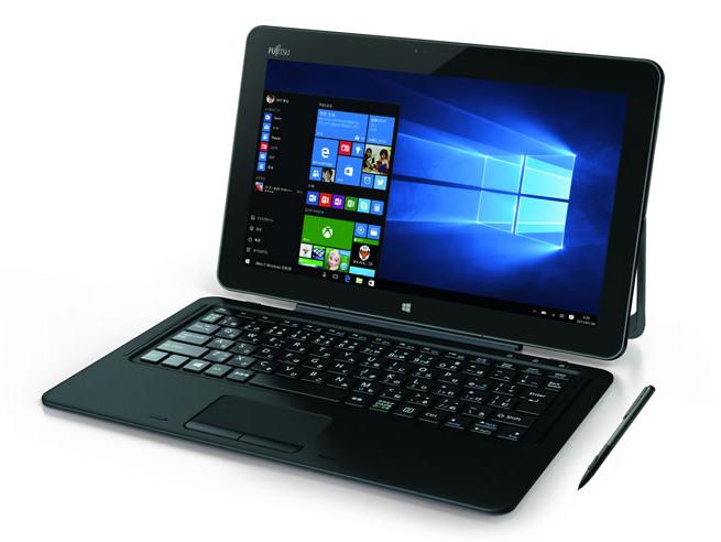 Fujitsu представила 12,5-дюймовий гібридний планшет Arrows Tab RH77 / X (1)