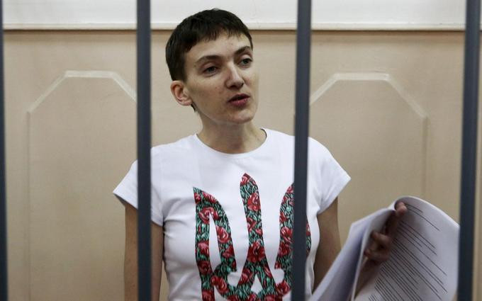 Савченко пригрозила России сухой голодовкой