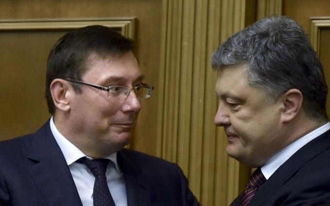 Усе було продемонстровано: Луценко висловився про Порошенка і офшори