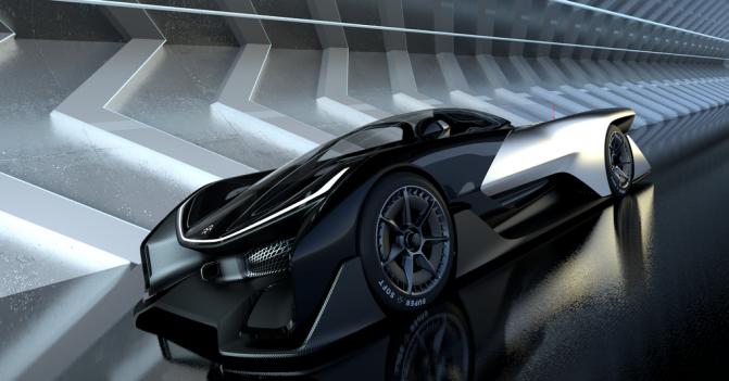 Faraday Future показала концепт своего спортивного электромобиля FFZERO1 (5 фото, видео) (4)