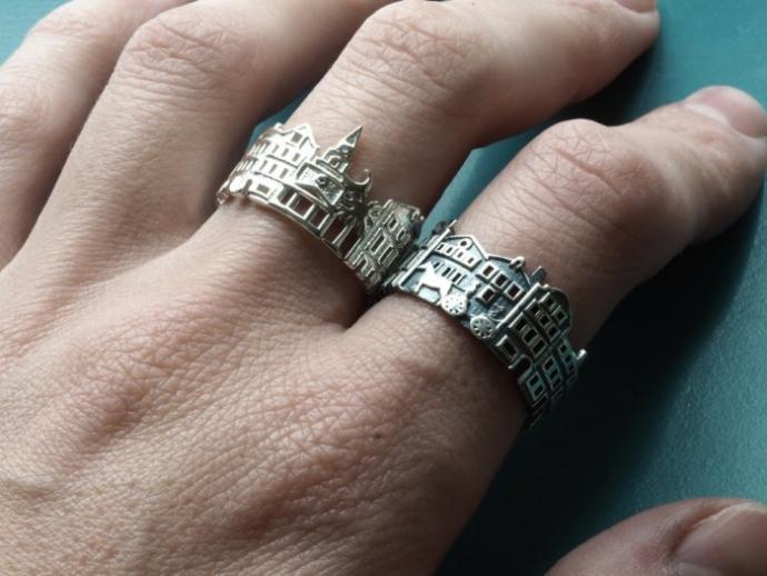 Драгоценные кольца с городскими пейзажами (22 фото) (13)