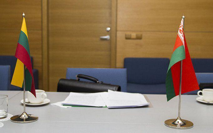 Беларусь выразила протест Литве всвязи с несоблюдением воздушной границы
