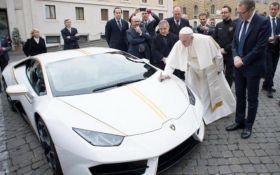 Папе Римскому подарили Lamborghini за 200 тыс евро