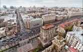 В Киеве на Крещатике обустроили первый наземный переход