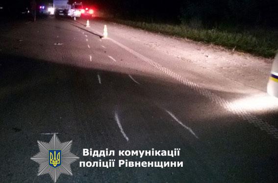 В страшному ДТП на Рівненщині загинули пасажири маршрутки: опубліковані фото (1)