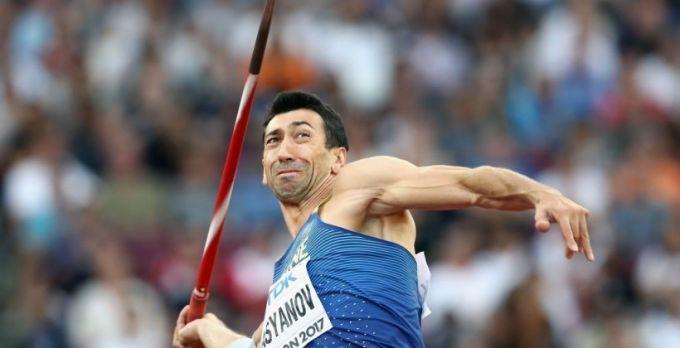 Касьянов занял 6-е место в десятиборье на чемпионате мира