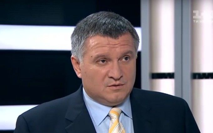 """Аваков розповів про пожежу на """"Інтері"""": з'явилося відео"""