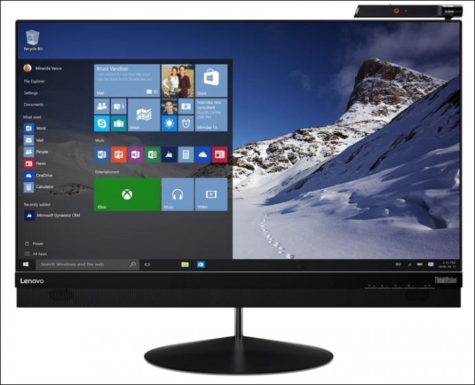 Lenovo привезла на CES 2016 ультратонкий монитор ThinkVision X1 (3 фото)