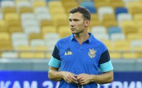 Шевченко назвав склад збірної України на червневі матчі